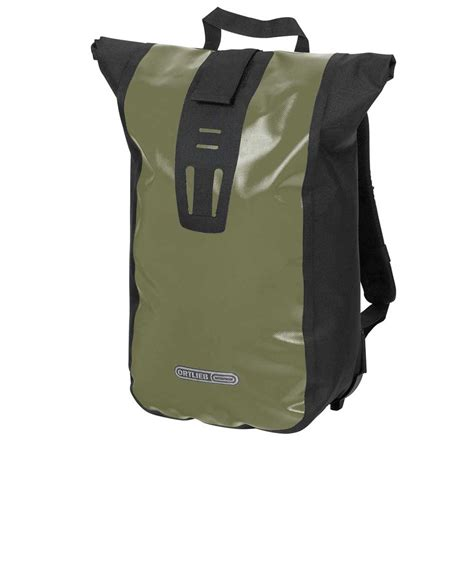 Ortlieb Velocity Roll-top Rucksack Olive kaufen - FAIR COUTURE