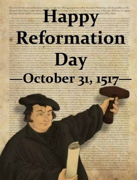 46 best images about Reformation Day on Pinterest