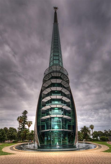 The Bell Tower on the foreshore of Perth,Western Australia