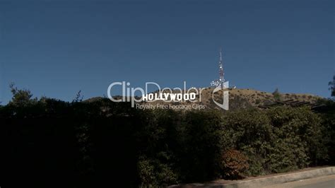 Hollywood Sign: Royalty-free video and stock footage