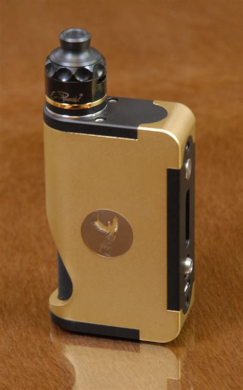 The Key Squonker by E-Phoenix - Gold Champagne