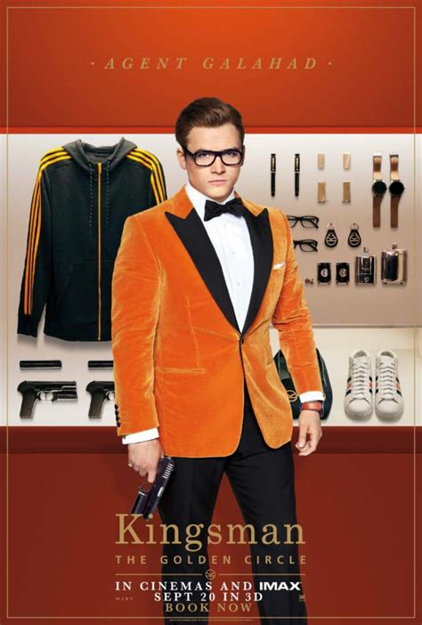 UPDATE: Kingsman: The Golden Circle gets new one-sheet and