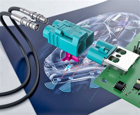 FAKRA Connector Products - Connector and Cable Assembly