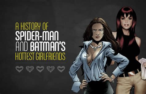 Infographic: A History of Spider-Man and Batman's Hottest