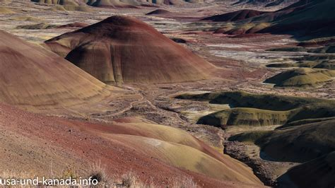 John Day Fossil Beds National Monument – Drei Mal Natur in