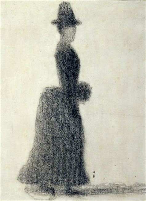 » Go See- Zurich: Georges Seurat 'Figure in Space' at
