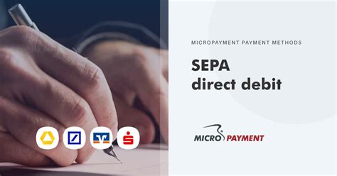 direct debit - collection by SEPA direct debit   Micropayment