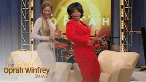 """Beyoncé Shows Oprah How to Dance """"Bootylicious"""" Style"""