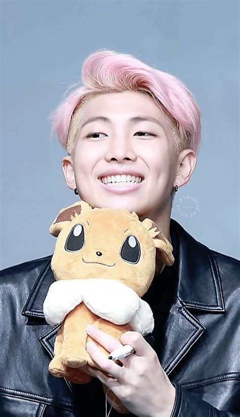 Literally Just 47 Photos Of BTS Rap Monster's Dimples