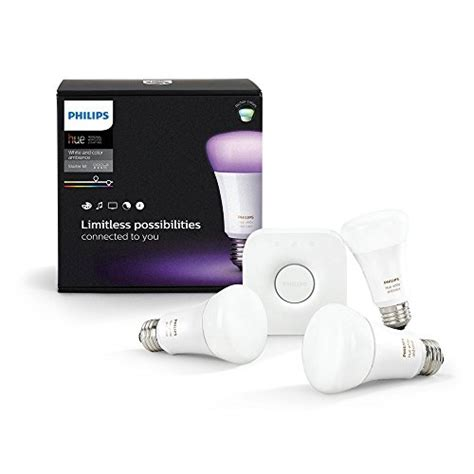 Philips Hue White & Color Ambiance E27 LED Lampe Starter