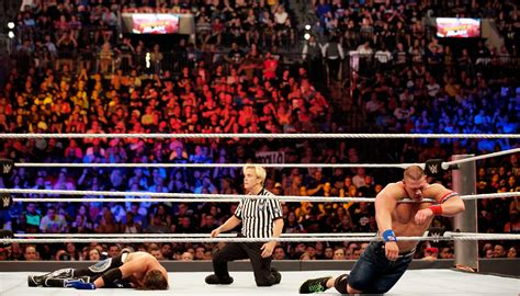 WWE - Best matches of the year in professional wrestling