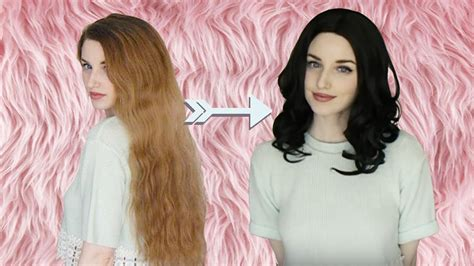 How to get Long Thick Hair Under a Wig - YouTube