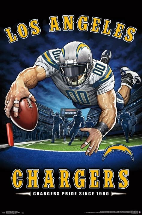 Los Angeles Chargers - End Zone