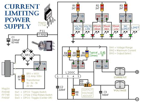 Current Limiting Power Supply