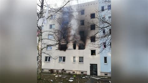 Explosion at apartment building in Blankenburg, Germany