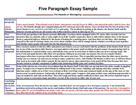 3 paragraph essay example for kids - Google Search