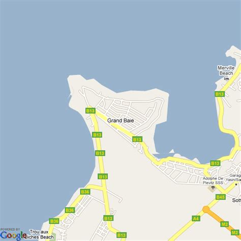 Map of Grand Baie, Mauritius | Hotels Accommodation