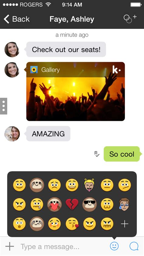 Kik Messenger Gets Improved Scrolling, iPhone 6 and iPhone