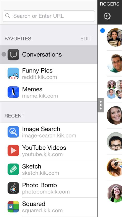 Kik Messenger App is Updated With iOS 8 Compatibility