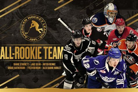 2018-19 AHL All-Rookie Team named   TheAHL