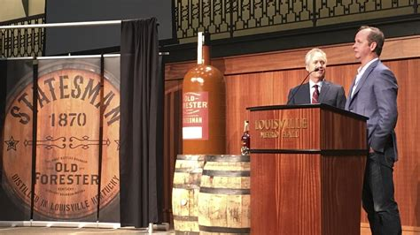 Old Forester debuts Statesman bourbon to capitalize on