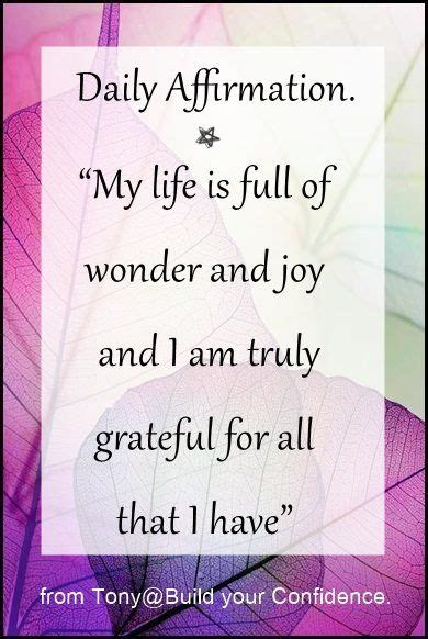 Daily Affirmation / quotes for inspiration   Affirmation