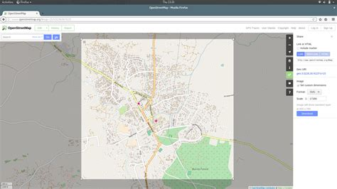 Why I cannot download Arua (Uganda) city map in
