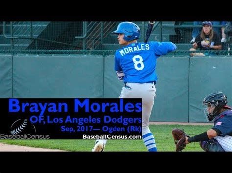 Brayan Morales, OF, Los Angeles Dodgers - YouTube