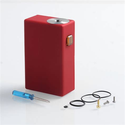 Goon Squonker Style Red ABS 8ml 18650 Mechanical Box Mod
