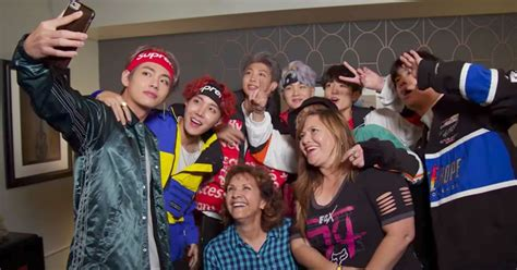 Moms Got to Meet BTS and Rub It in Their Daughters' Faces