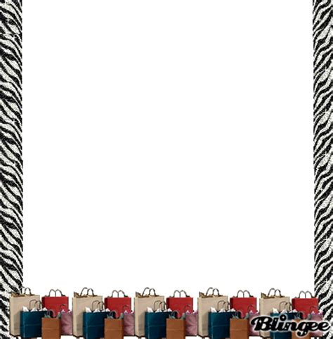 Shopping Bags Frame Picture #82185539   Blingee