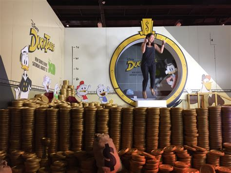 Remember the coin vault from Disney's DuckTales? Like
