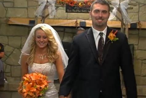 16 And Pregnant Stars Leah & Corey Get Married!   MTV UK