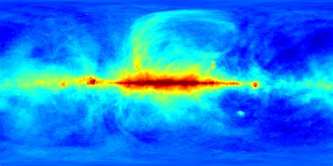 """LAMBDA - Foreground Microwave Sky """"Science on a Sphere"""" Images"""