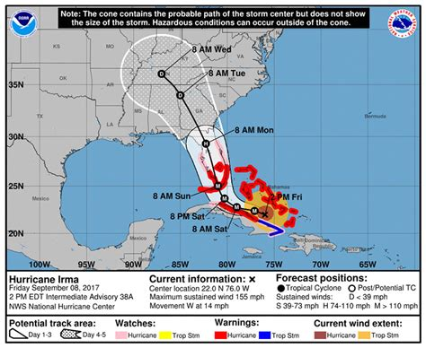 Hurricane Irma Mapped: The Science Behind Why This Storm's