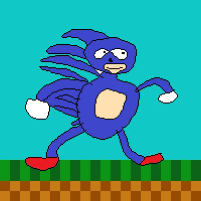 Sanic Goes Fast by LexRodent on Newgrounds